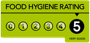 G's hygenic rating